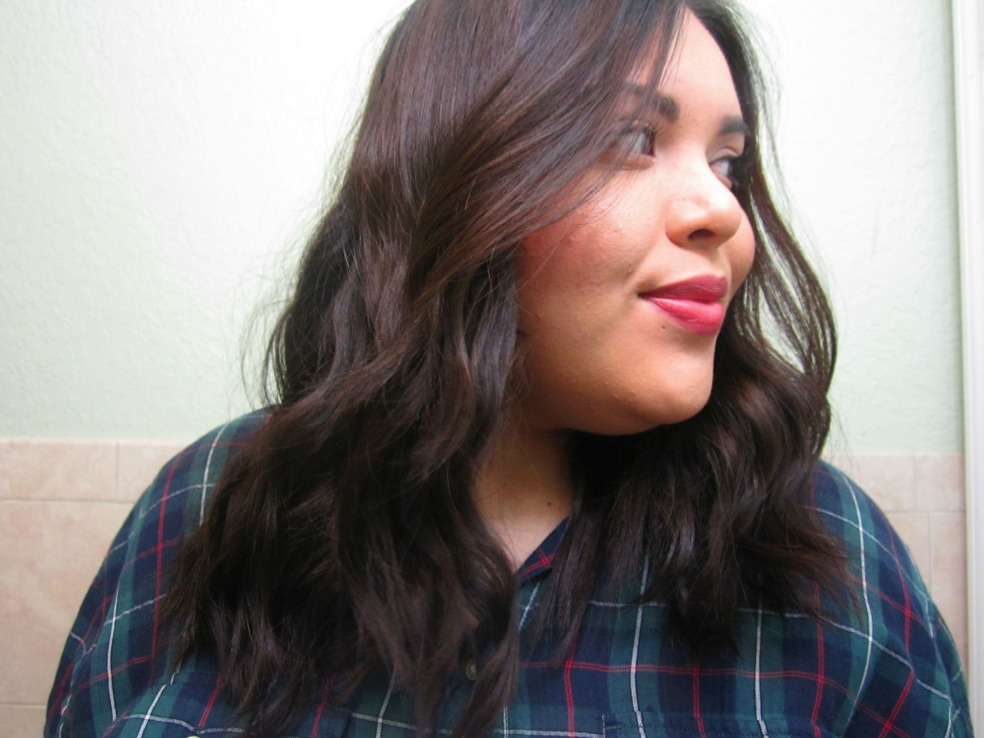 Heatless Beach Waves Hairstyle