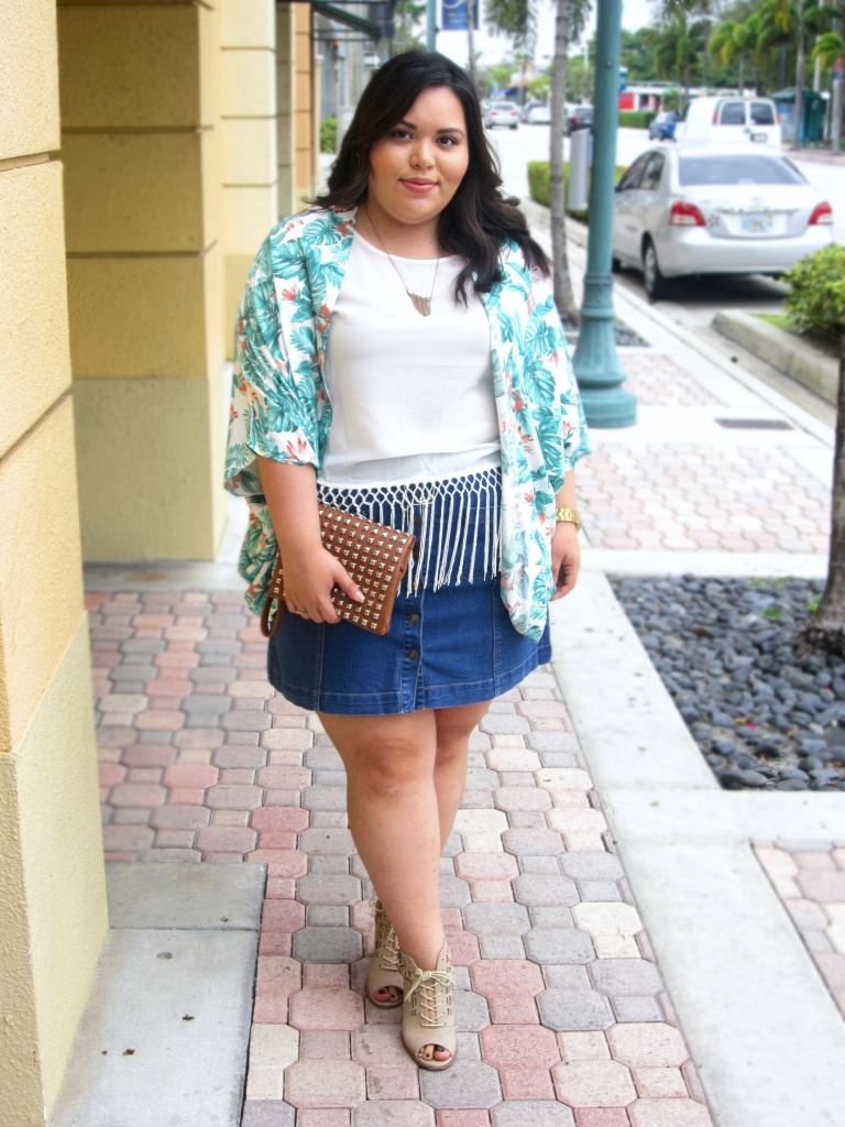 Styling Spring Plus Size Fashion