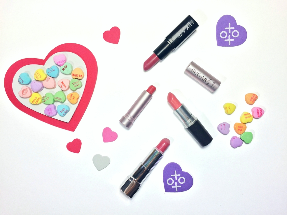 Valentine's Day 2016 Lip Colors