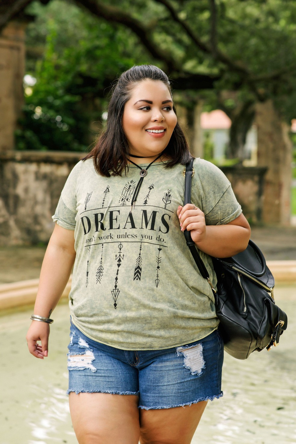 Plus Size Casual Style Outfit