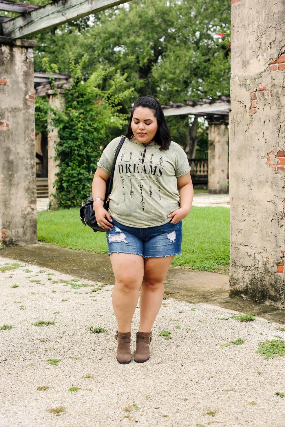 Miami Plus Size Boho Style Outfit