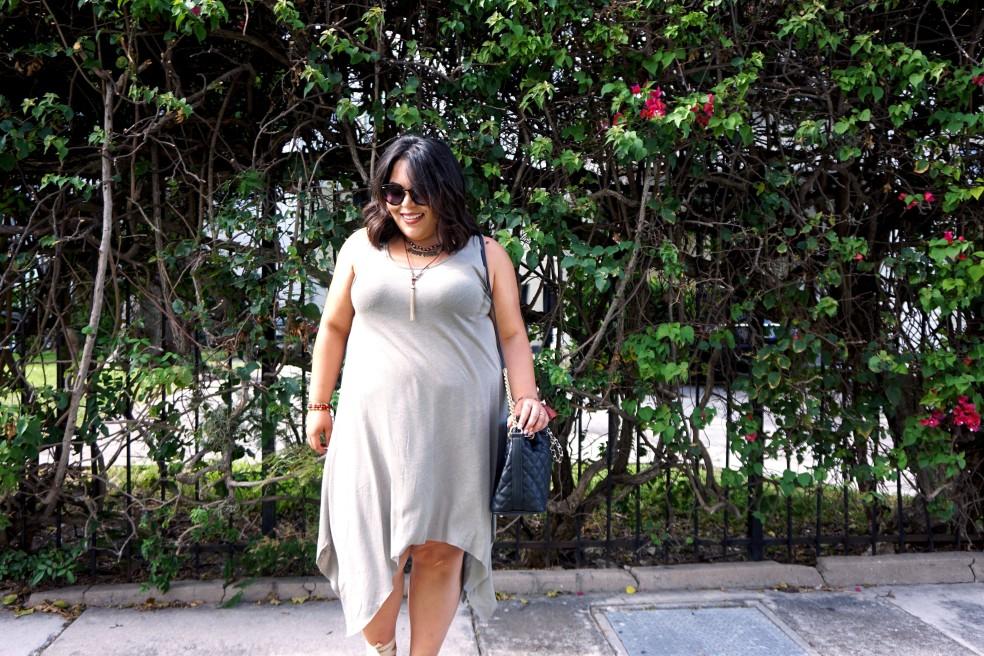 Summer Plus Size Style H&M Dress