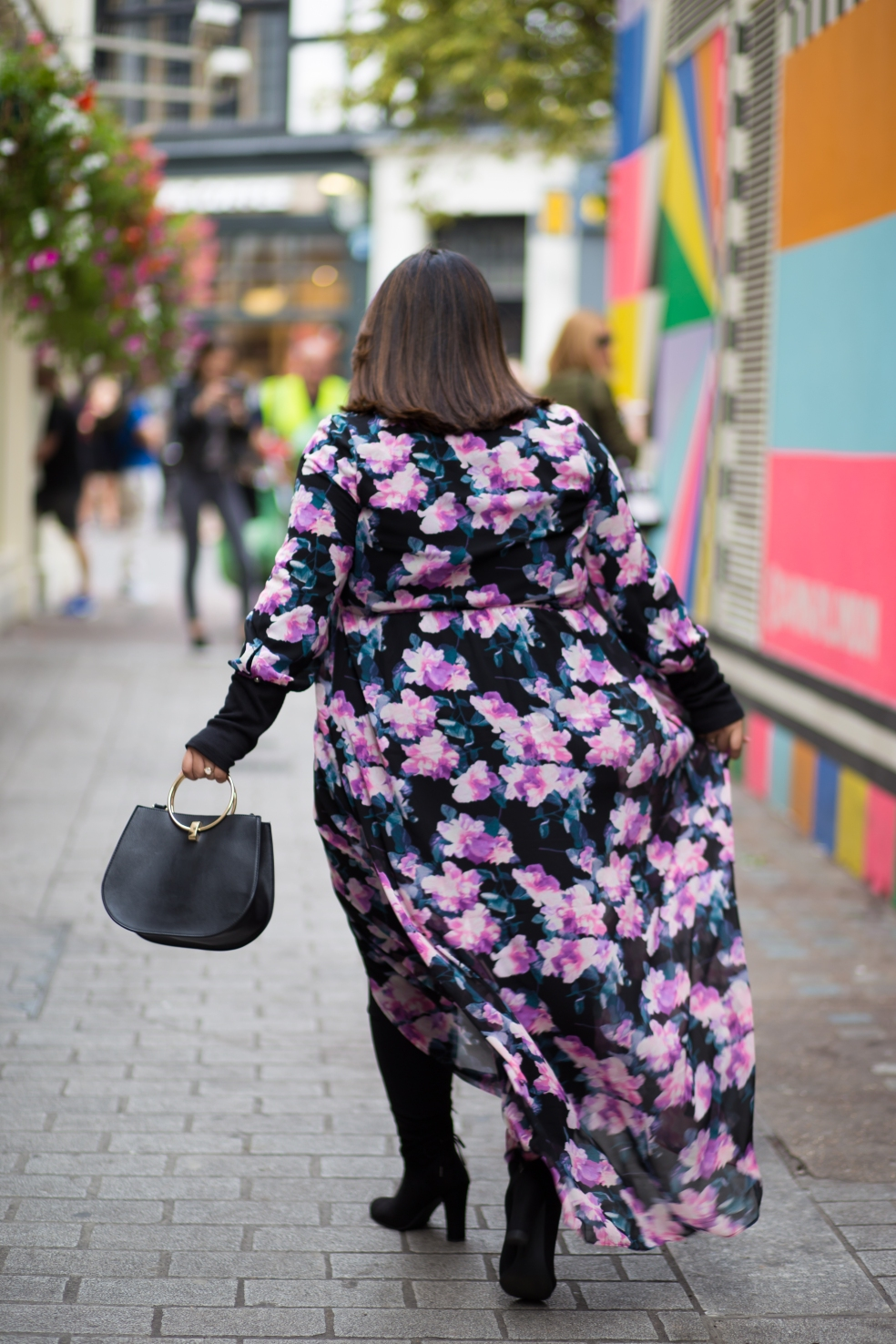 Forever 21 Plus Floral Maxi Dress London Fashion Week