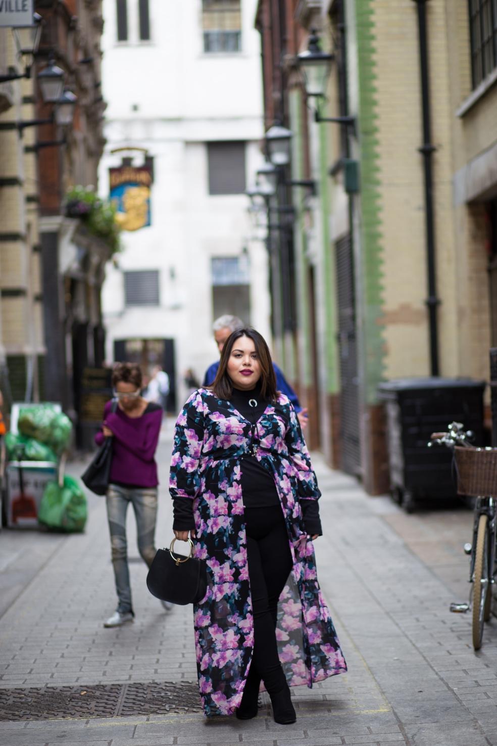 Plus Size Street Style Fall Fashion London