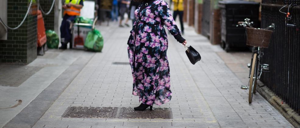 Forever 21 Plus Size Floral Maxi Dress