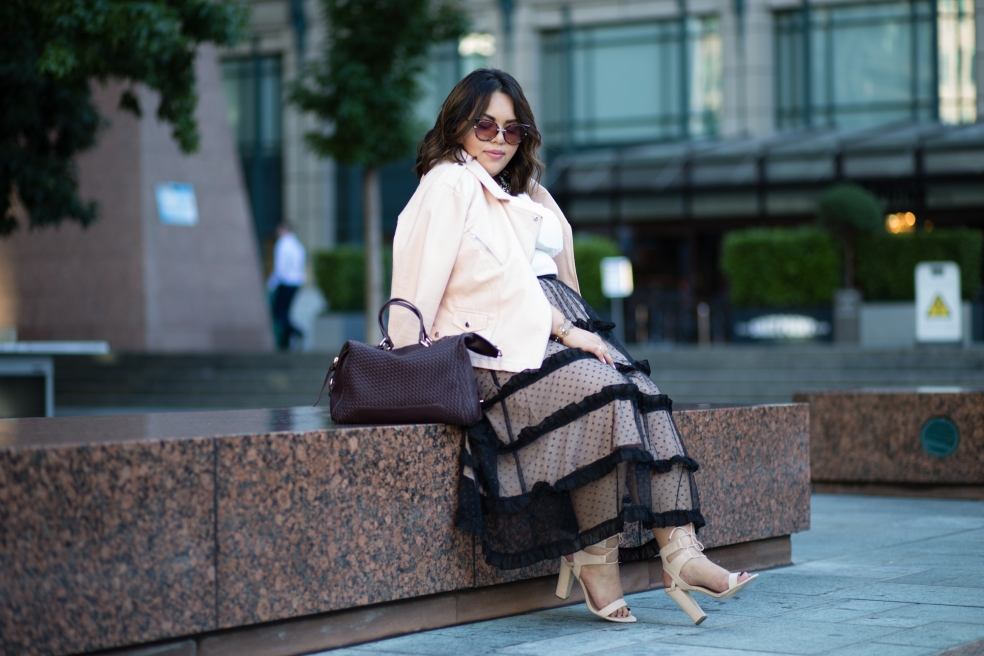 Plus Size Fall Fashion Outfit of the Night