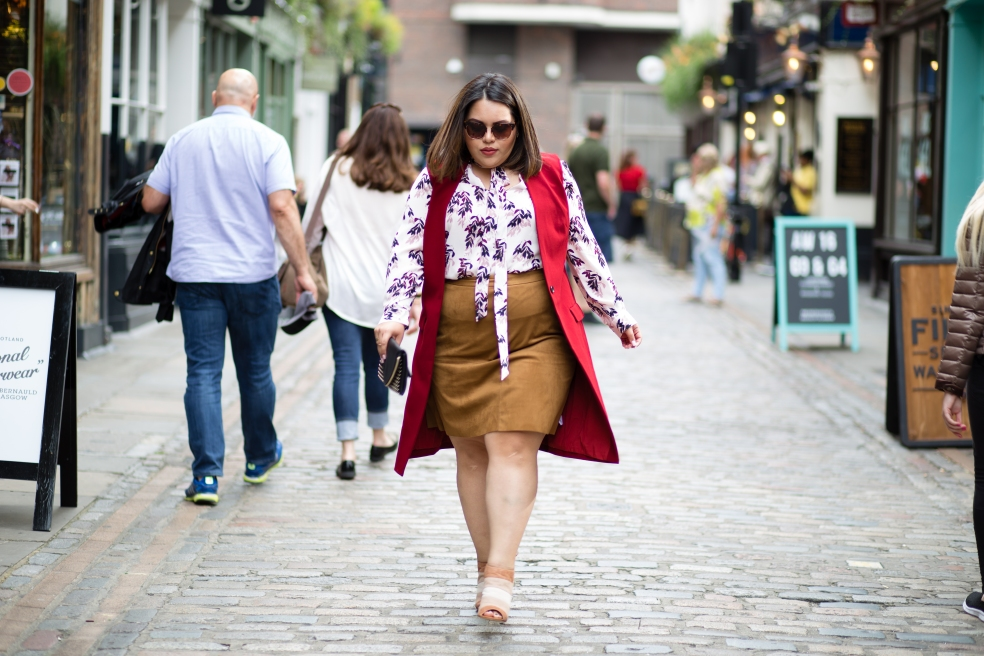 London Fashion Week Plus Size Street Style