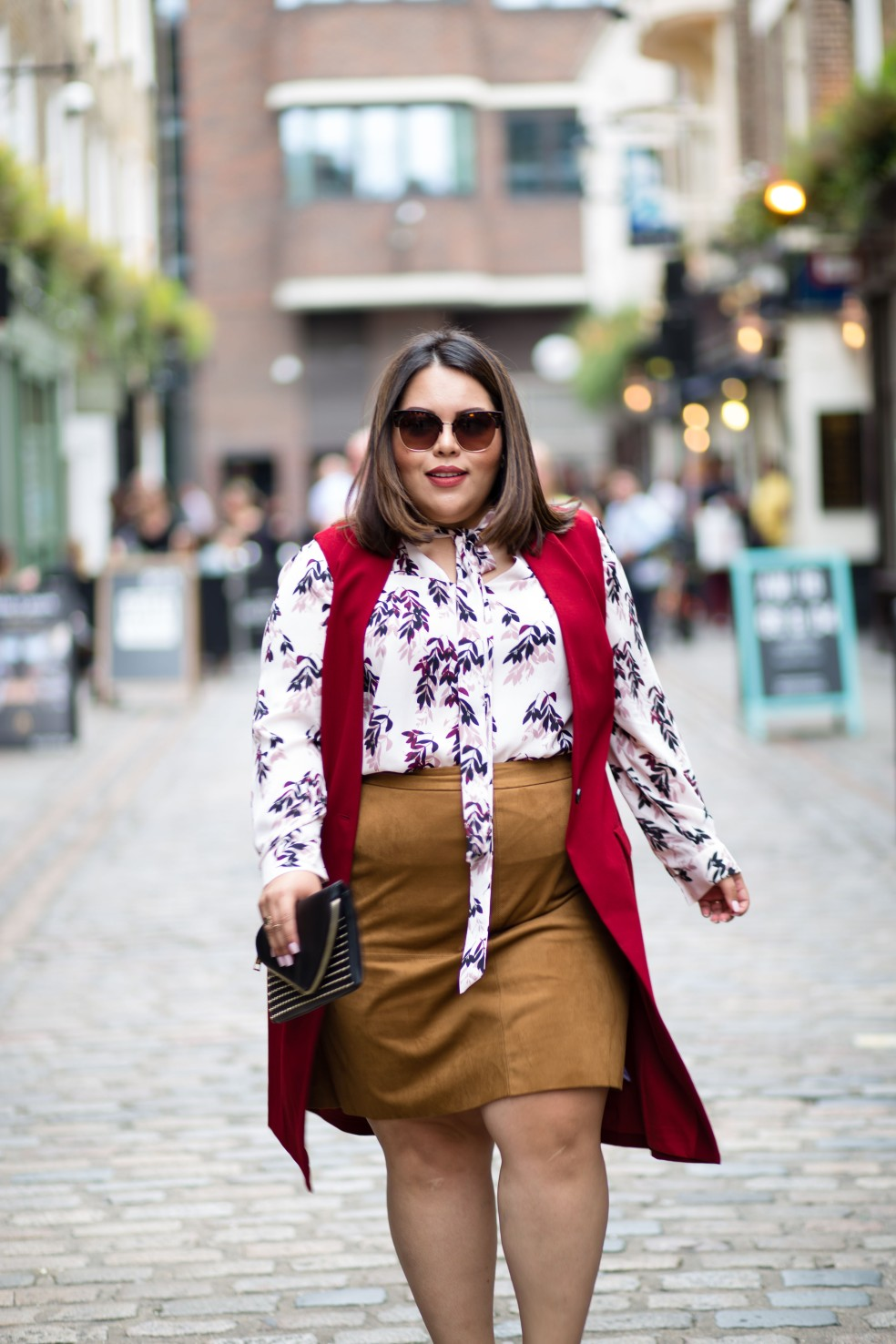 LFW Retro Inspired Fall Plus Size Style