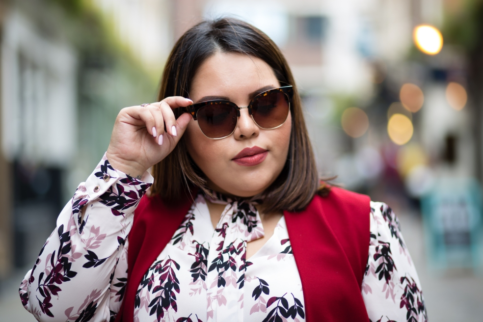 Forever 21 Browline Square Sunglasses Street Style