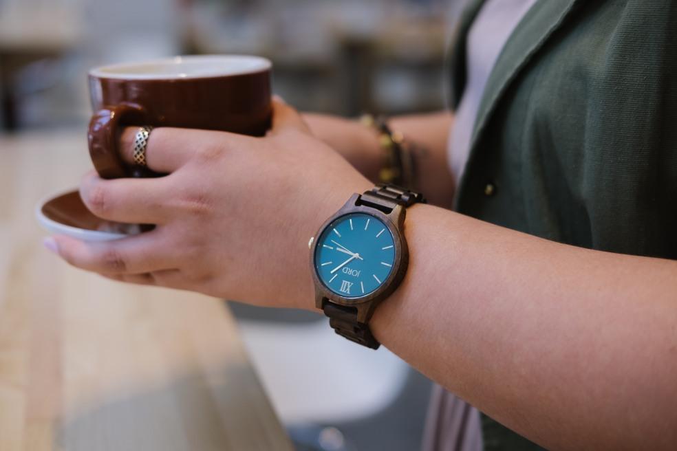 Dark Sandalwood Timepiece
