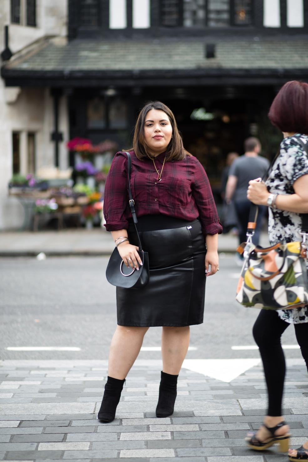 Plus Size Fall London Street Style Fashion