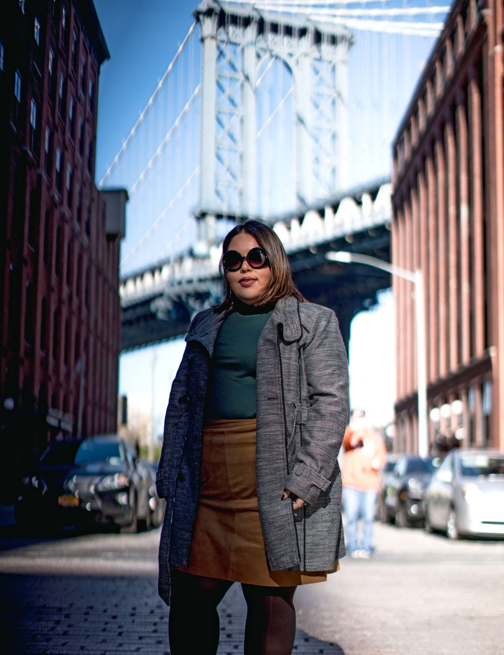 Plus Size Fall Street Style in NYC