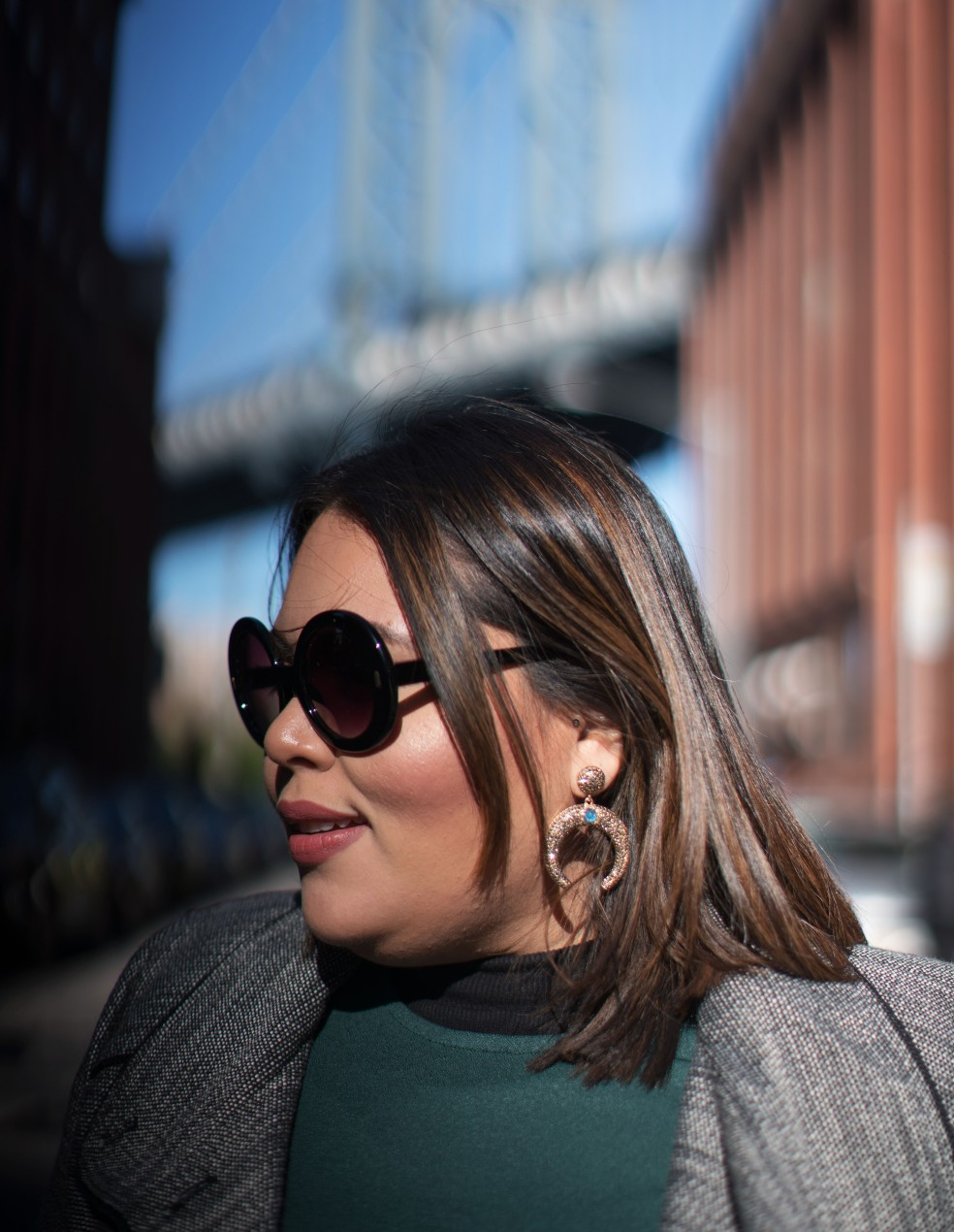 Let's Talk Chic blogger wearing Baublebar Zosma Drops Earrings x Shay Mitchell