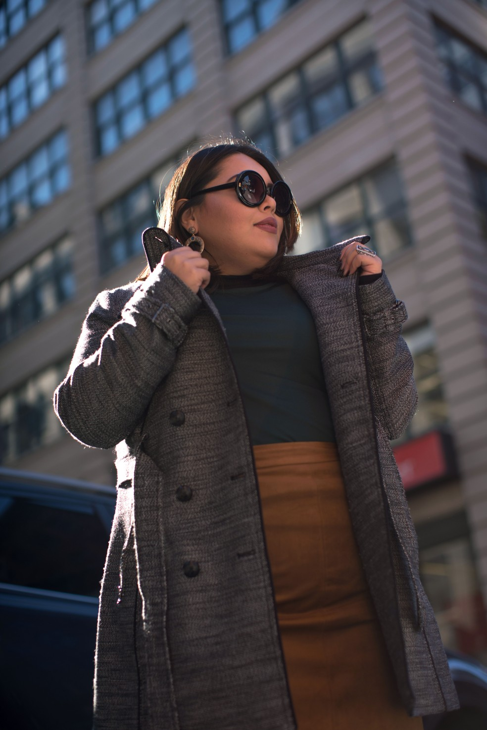 Plus Size Winter Outfit of the Day