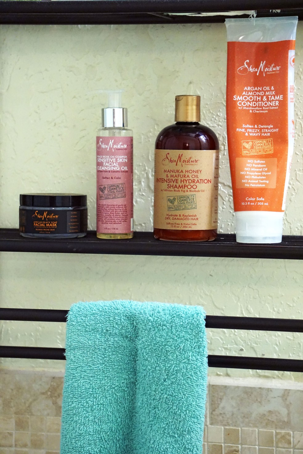 Shea Moisture Drugstore Beauty Product Line Review