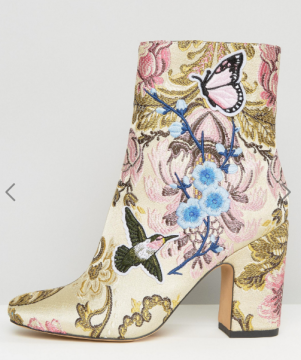 ASOS EDITH Embroidered Boots