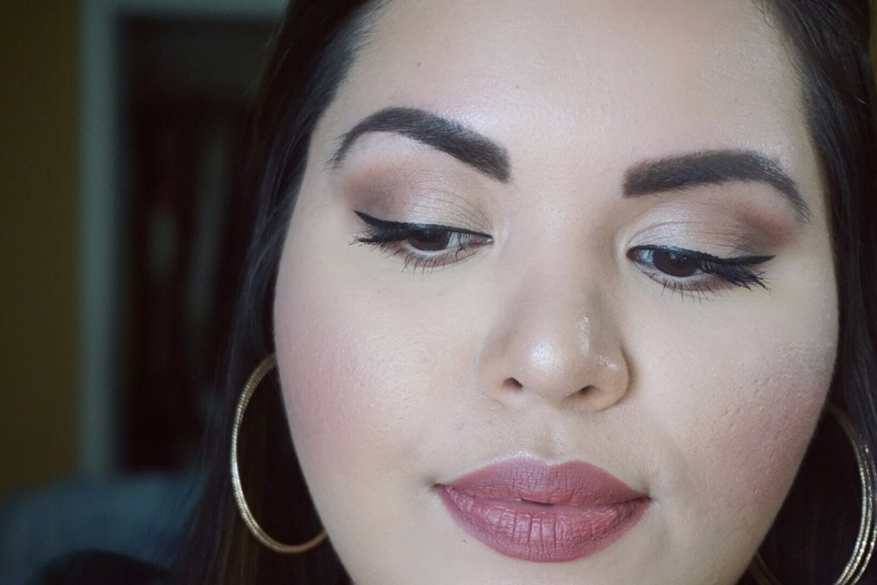 Valentine's Day Inspired Makeup Look