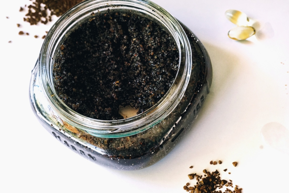 Dark Roast Organic Coffee Exfoliating Scrub