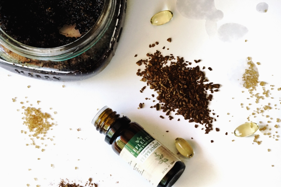 5 Ingredients for Natural Body and Face Exfoliating Scrub