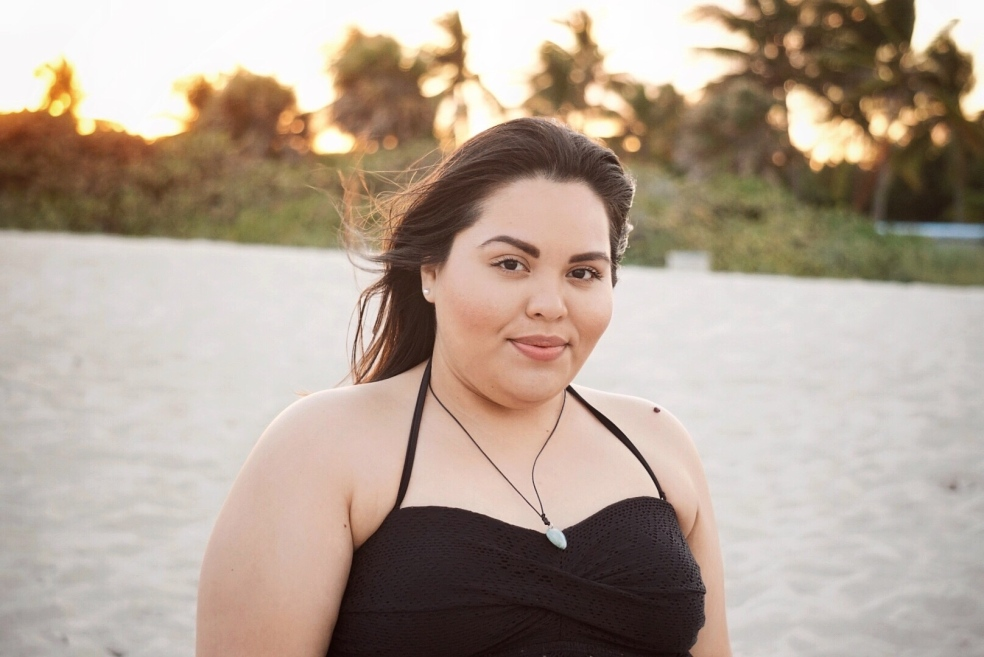 Latina Plus Size Blogger Self Love Post