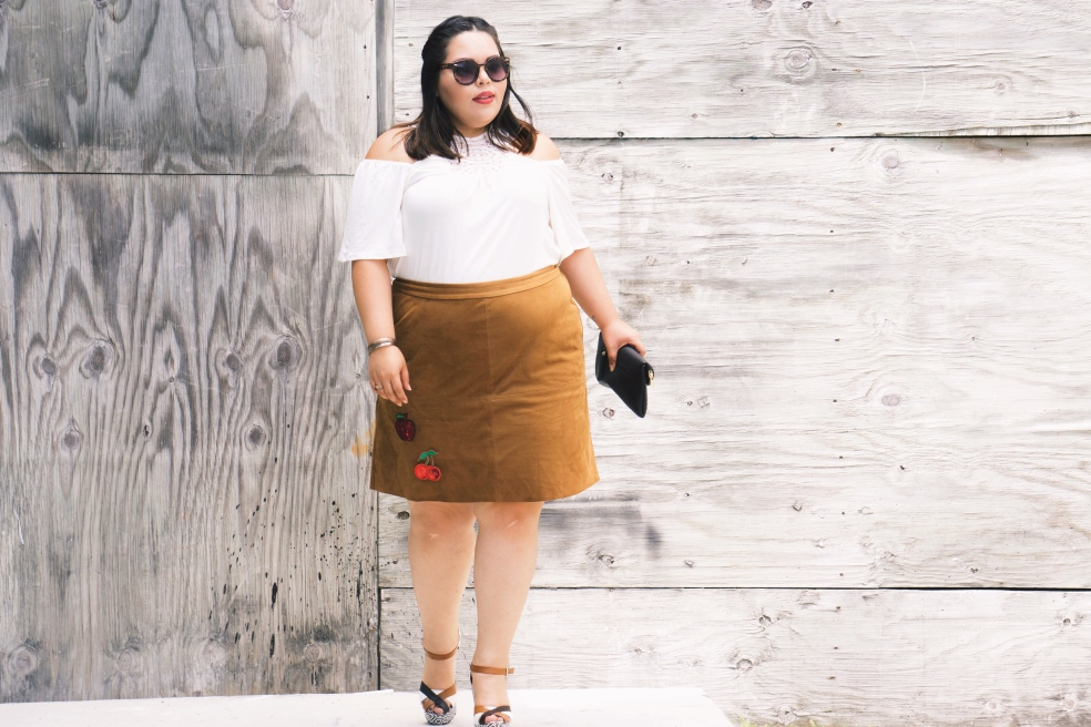 Plus Size Spring Style Outfit Idea