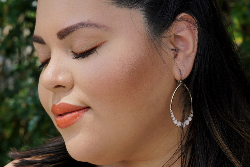 Latina Beauty Blogger Spring Makeup Look