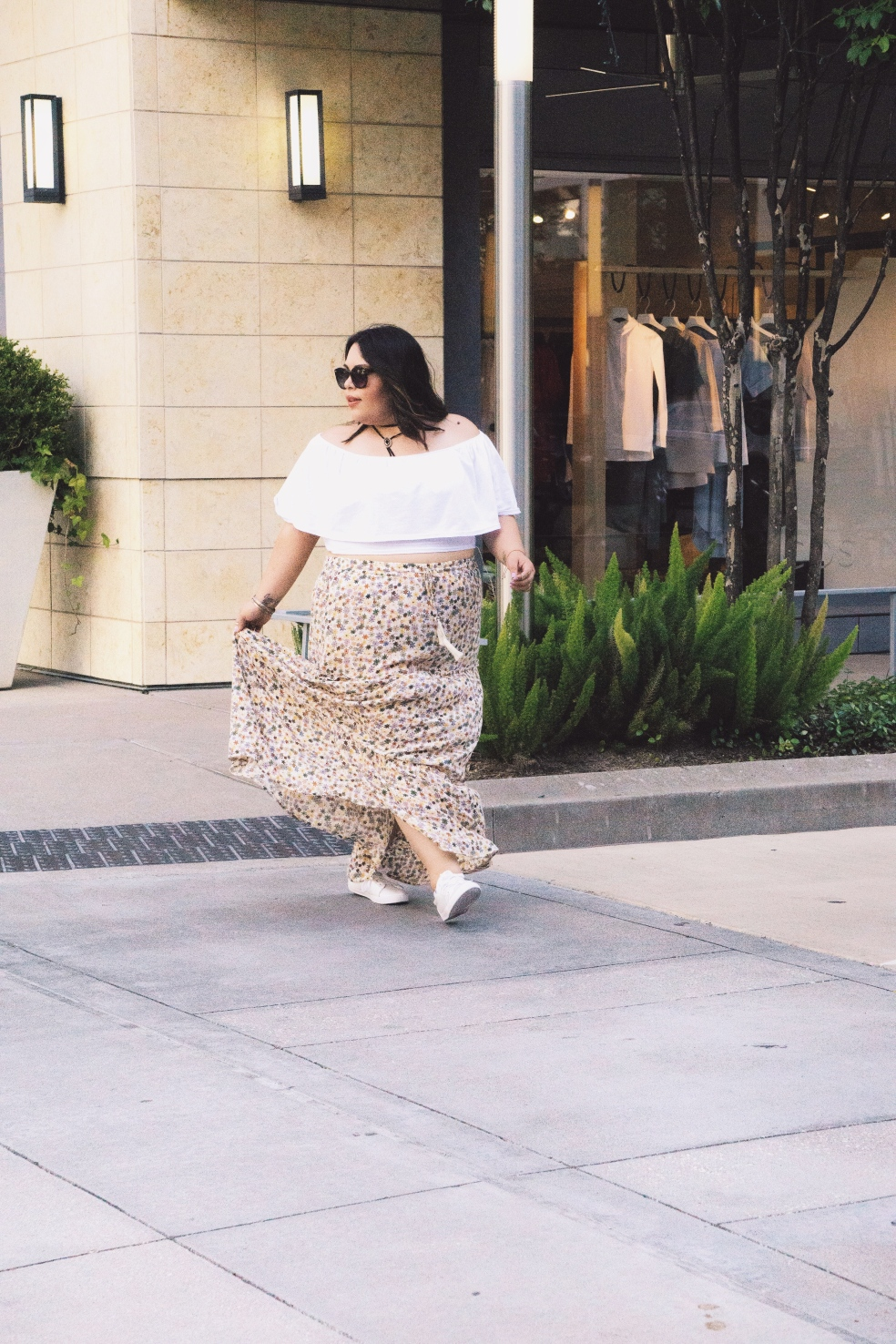 Plus Size Spring Style Outfit In Houston