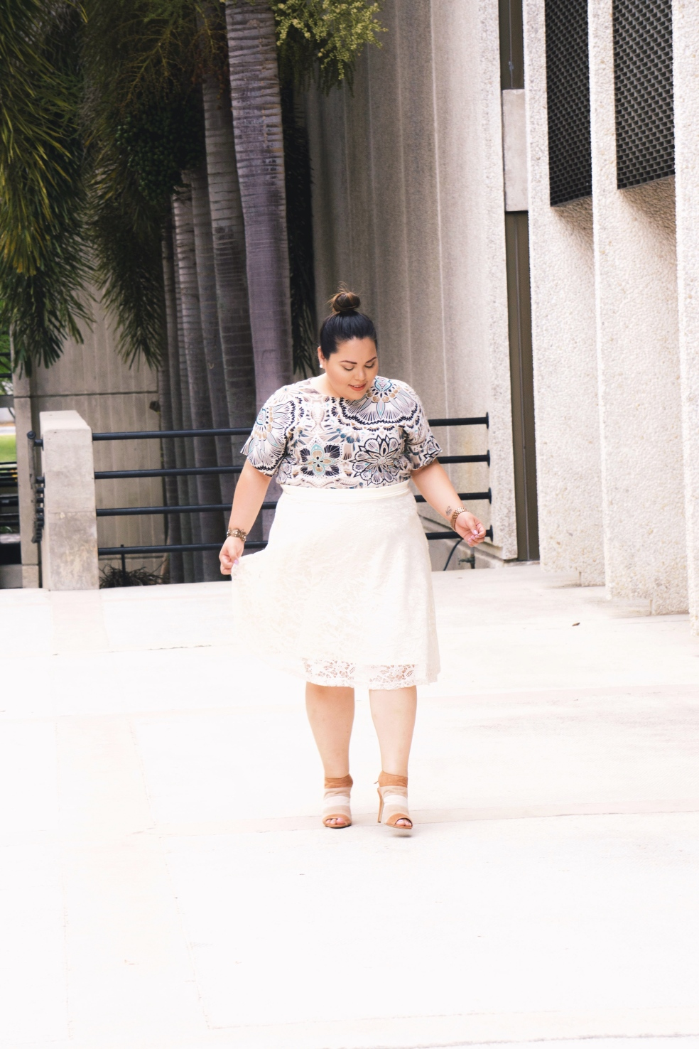 Plus Size Lifestyle Spring Outfit of the Day