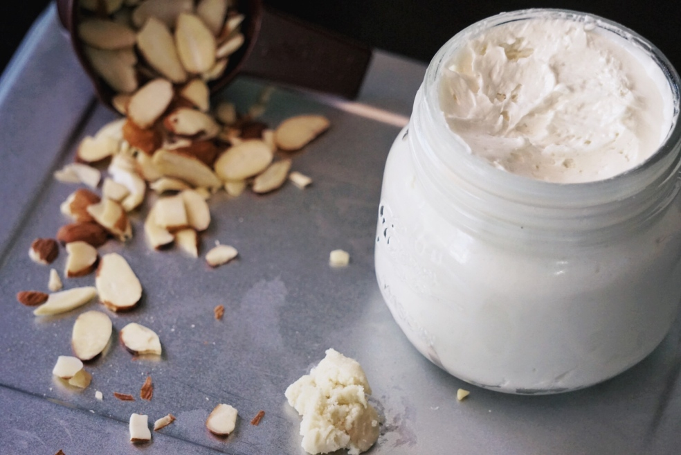 How to DIY Natural Organic Jasmine Whipped Body Butter Recipe