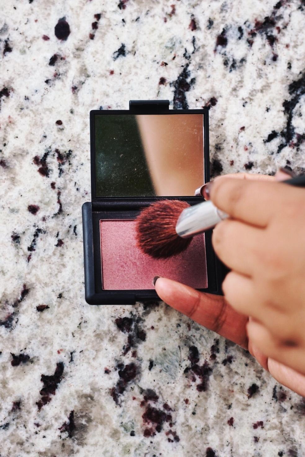 NARS Sin Blush Everyday Makeup Routine