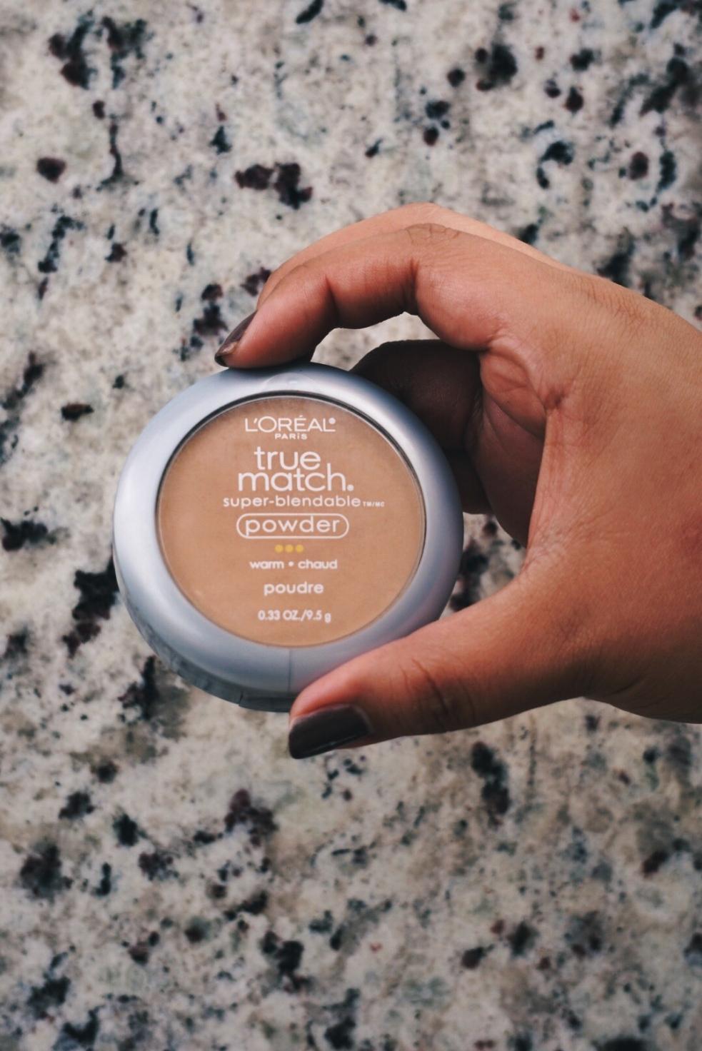L'Oreal True Match Powder Makeup Routine