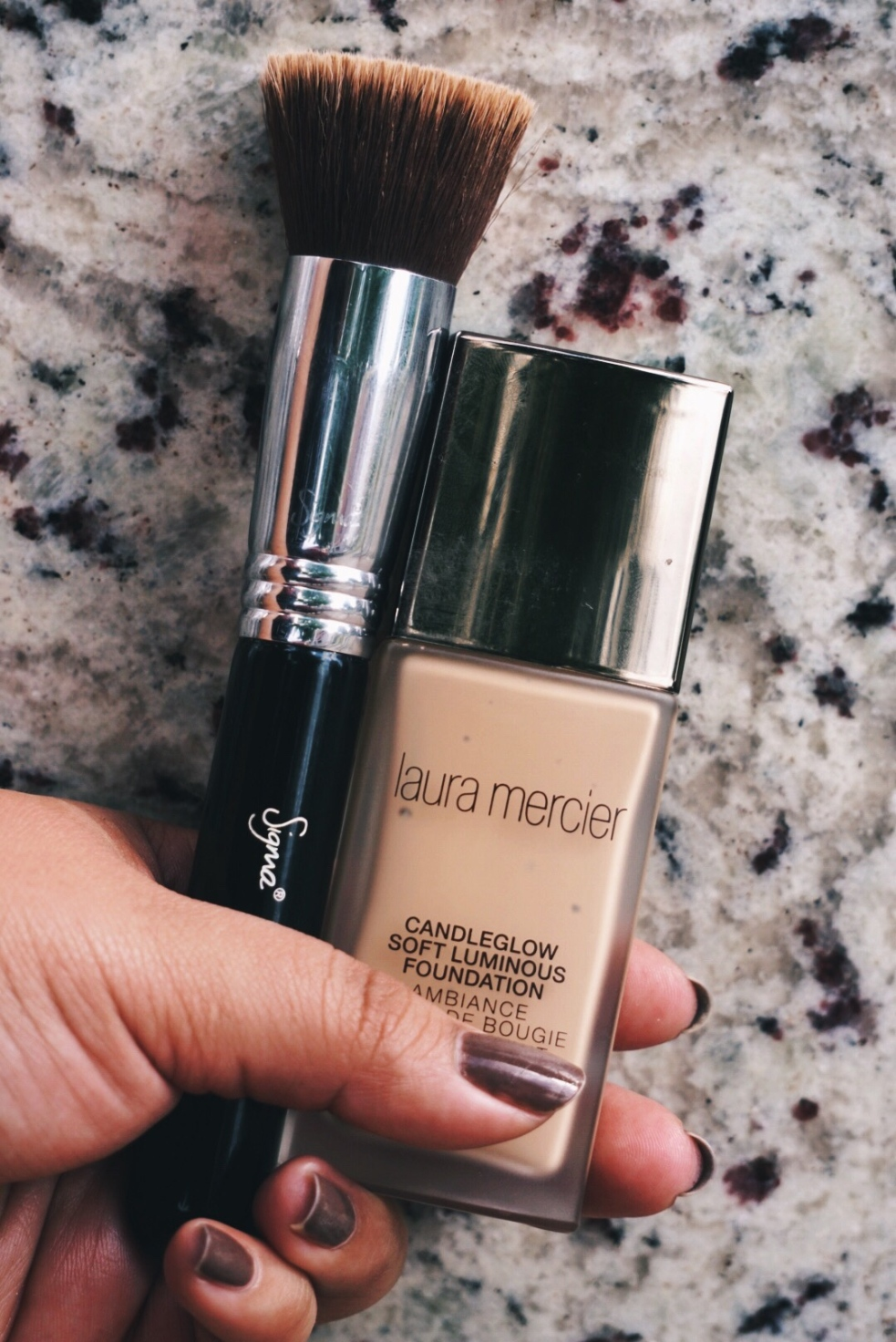 Laura Mercier Candleglow Soft Luminous Foundation Makeup Routine