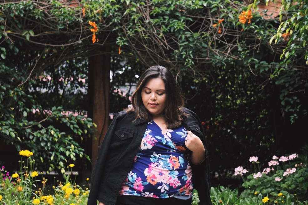 Plus Size Summer Travel Outfit of the Day